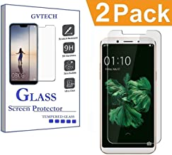 GVTECH Screen Protector for Oppo F5, Tempered Glass Screen Protector[0.3mm, 2.5D][Bubble-Free][9H Hardness][Easy Installation][HD Clear] for Oppo F5(2 Pack)