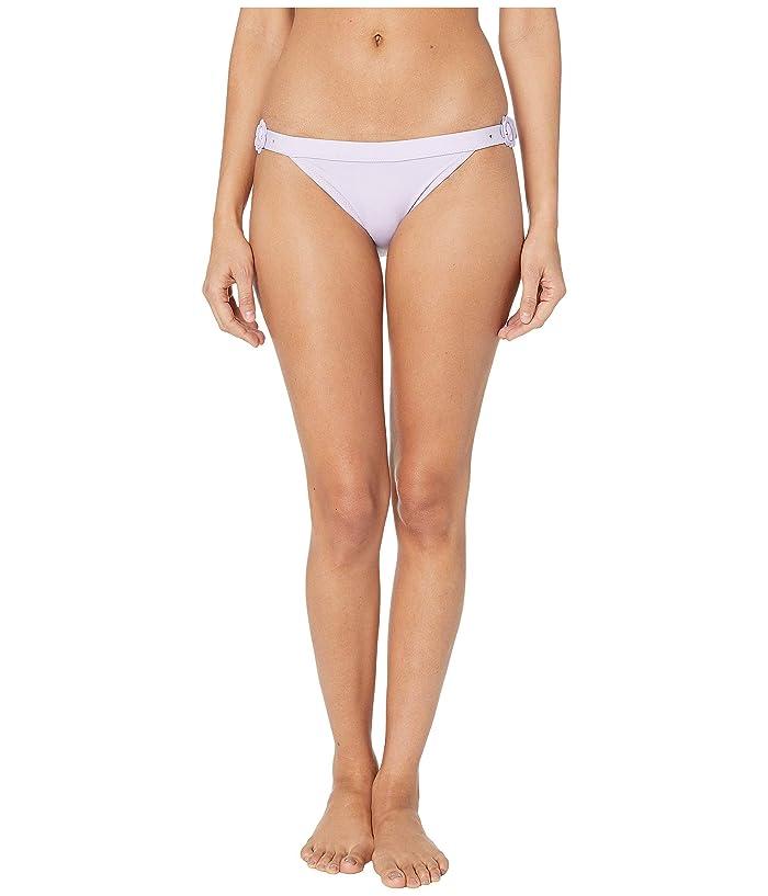 Kate Spade New York Daisy Buckle Bikini Bottoms (Frozen Lilac) Women