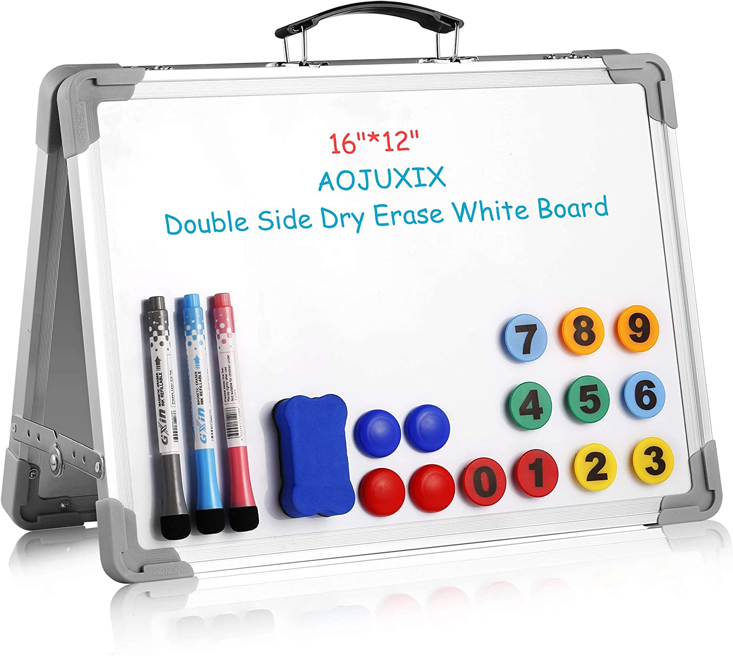 Aojuxix Small Dry Erase White Board Ranking TOP11 Side Special Campaign M Double Desk Portable