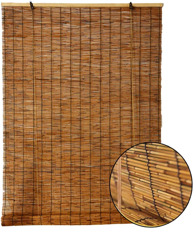 希望者のみラッピング無料 Reed 秀逸 curtain Natural Bamboo Environmental Blinds Roller