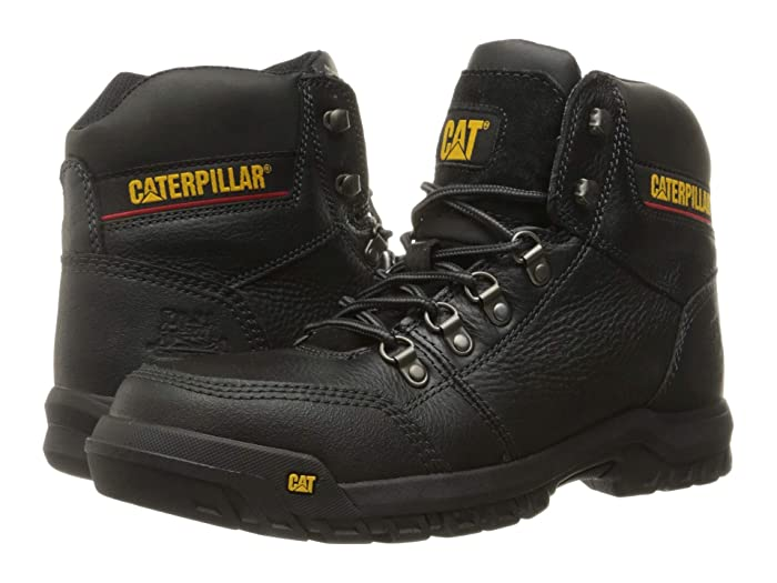 Caterpillar  Outline ST (Black) Mens Work Lace-up Boots