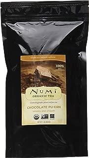 Numi Organic Tea Chocolate Pu-erh, 16 Ounce Pouch, Loose Leaf Black Tea (Packaging May Vary)