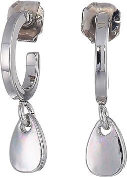 Small Hoop Drop Earrings