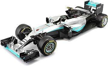 Bburago - Maqueta de Coche Mercedes de la F1 Temporada 2016 (Modelo Nico Rosberg), de fundición, Escala 1:18. Referencia B18-18001R.