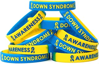 SayitBands 15 Down Syndrome Awareness Wristband Bracelets