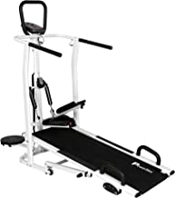 PowerMax Fitness MFT-410 4 in 1 Multi-function Manual Treadmill with Free Installation, 3 Years Motor Warranty and with Jo...