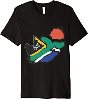 HowExpert South Africa Flag Tshirt/Shirt/Clothes/Clothing Premium T-Shirt