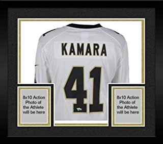 Framed Alvin Kamara New Orleans Saints Autographed Nike White Game Jersey - Fanatics Authentic Certified
