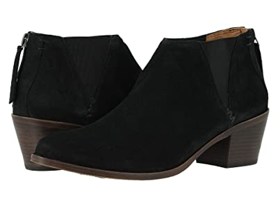 Trask Tisha (Black Oiled Suede) Women