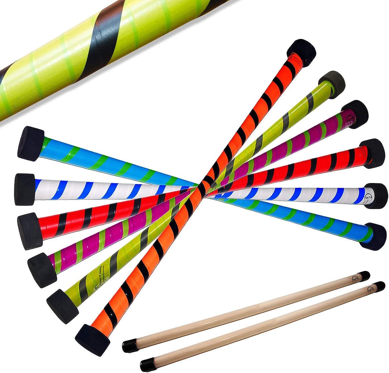 Twist Devil Stick Set with Free Wooden Control Hand Sticks