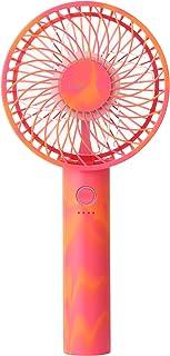 2020年NEWモデル Francfranc(フランフラン)公式 フレハンディファン 携帯扇風機 手持ち扇風機 卓上扇風機 USB充電式 5段階風量調整