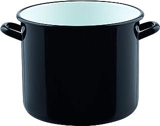 Riess 0230-017 - Klassischer Zwerg Riesen Topf, 24 cm, schwarz
