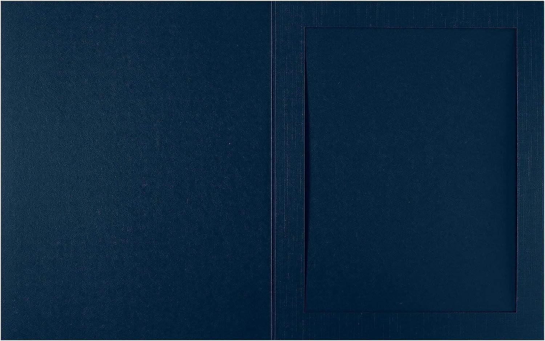 LUXPaper 8 x 10 Portrait trust Photo New Shipping Free Holder lb. Li 100 - Blue Nautical