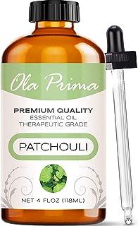 Ola Prima 4oz – Premium Quality Patchouli Essential Oil (4 Ounce Bottle)..