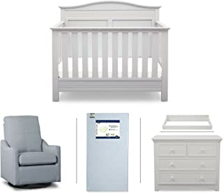 crib changing table and dresser set