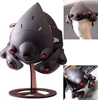 Gmasking 2019 Widow Maker Cosplay Light-up Helmet Exclusive 1:1 Collectible Costume Props Black