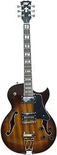 ivy IJZ-300 TSB Jazz Solid-Body Guitar Electric، Tobacco Sunburst