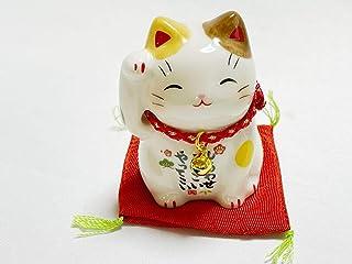 招き猫 猫 置物 グッズ 祈願 金運アップ 金運上昇 開運 風水 オブジェ ゴールド カード付 かわいい おしゃれ 7532