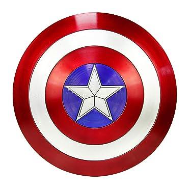 DMAR Captain America Shield Marvel Legends Escudo del Capitan America for Adult 75th Anniversary Avengers capt A Shield
