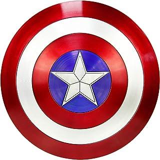 comprar comparacion DMAR Escudo del Capitán América, Escudo De ABS Plástico de 57 cm, Serie Avengers Legends, Réplica De Marvel Prop