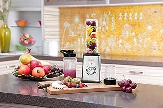 Clearline Healthy Fruit BlenderJuicer (Black-Clear)