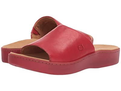 Born Ottawa (Red Full Grain Leather) Women