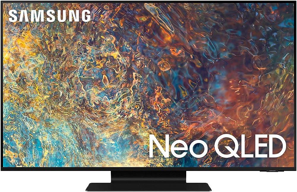 Samsung titan black smart tv 2021 50 pollici neo qled 4k ultra hd quantum matrix processore neo quantum 4k QE50QN90AATXZT