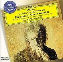 Beethoven- Die Späten Klaviersonaten Late Piano Sonatas Opp. 101, 106, 109, 110, 111