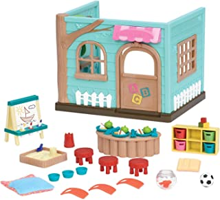 Li'l Woodzeez Animal Figurine Playset and Accessories - Li'l Luvs & Hugs Nursery - 45 Pieces