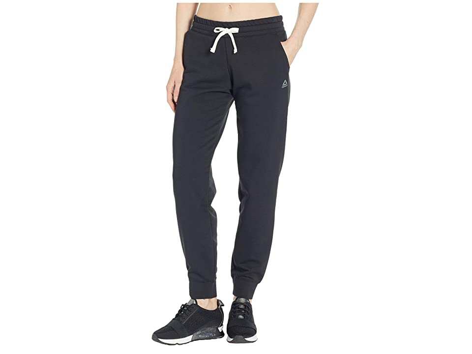 Reebok Training Elements French Terry Pants (Black) Women's Casual Pants