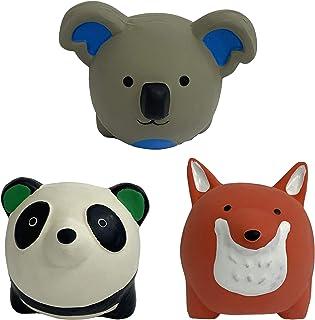 لعبة الحيوانات المستديرة المصنوعة من اللاتكس للكلاب مقاس 6.35 سم من مينيبت