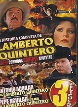 LA HISTORIA COMPLETA DE LAMBERTO QUINTERO 3PK:LAMBERTO QUINTERO/EL HIJO DE LAMBERTO QUINTERO/CONTRABANDO Y MUERTE