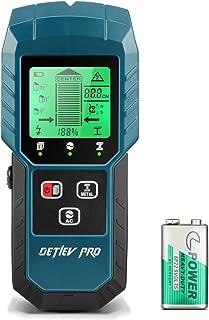 Stud Finder, Detlev Pro Stud Detector 5 in 1 Mutifunction Wall Scanner with Upgraded Smart Sensor