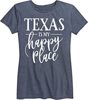 Texas is My Happy Place - Ladies Short Sleeve Classic Fit Tee