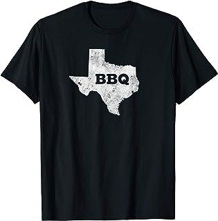Vintage Retro Texas BBQ Shirt - State of Texas Barbecue