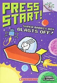 Super Rabbit Boy Blasts Off!: A Branches Book (Press Start! #5) (5)