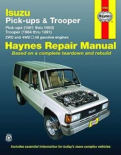 Best isuzu trooper shop manual Reviews