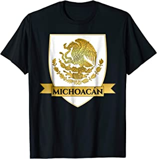 White Michoacan Mexico Crest