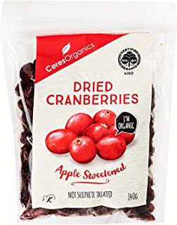 Ceres Organics Organic Dried Cranberries, 140 g