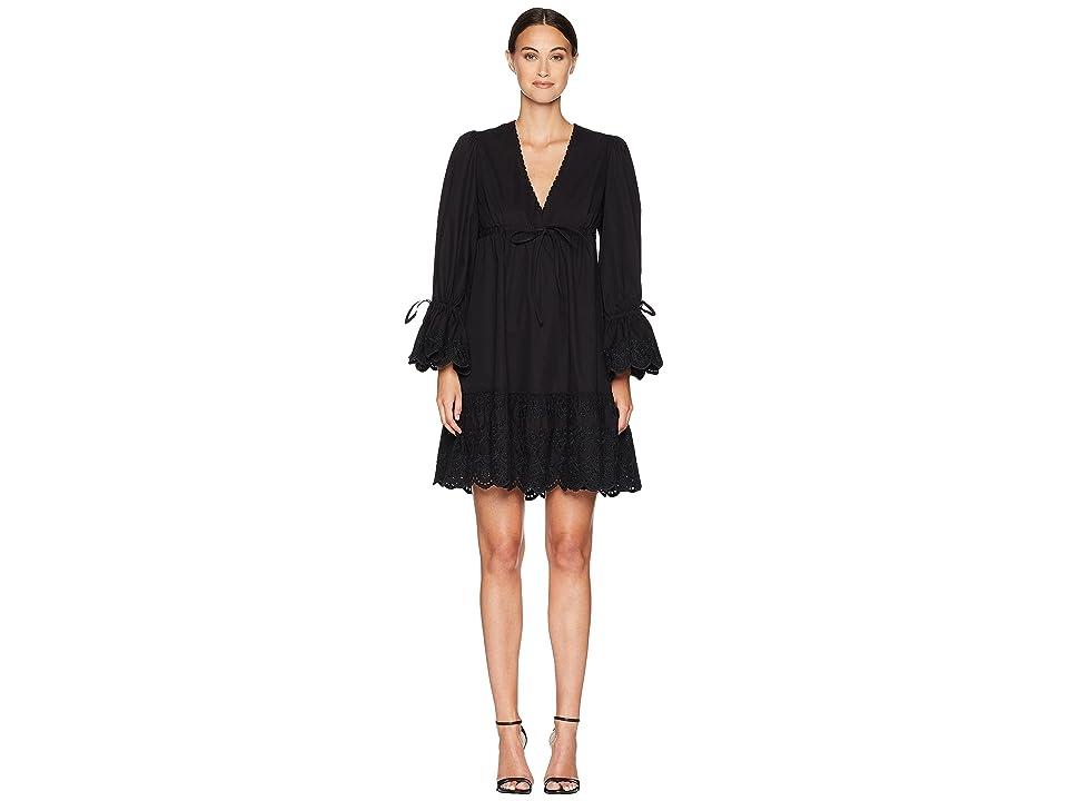 McQ Volume Tie Dress (Black) Women