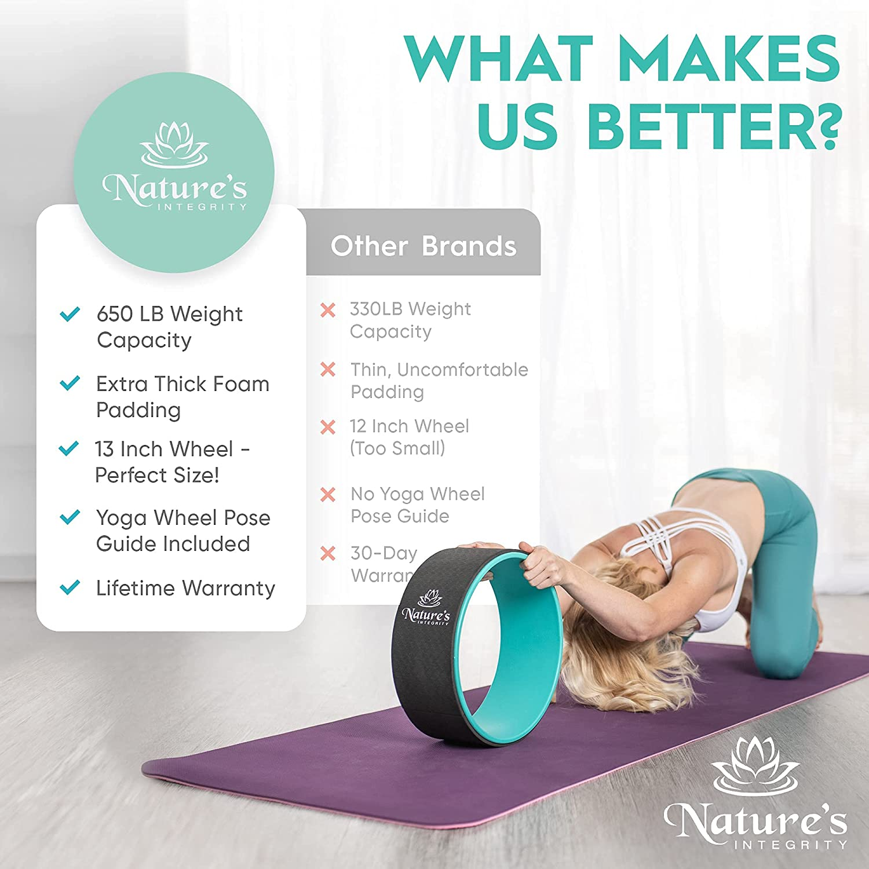 Nature&50;s Integrity Yoga Wheel 50