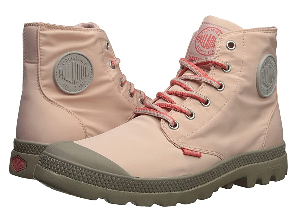 Palladium Pampa Puddle Lite Water Proof (Peach Whip/Vintage Khaki) Lace-up Boots