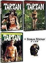 Tarzan: Complete Original 1960s TV Series Seasons 1 & 2 DVD Collection + Bonus Sticker