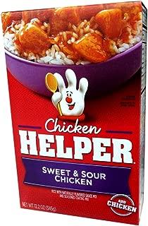 Betty Crocker SWEET & SOUR CHICKEN Chicken Helper 12.2oz (2 Pack)