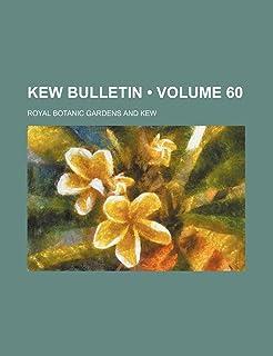 Kew Bulletin Volume 60