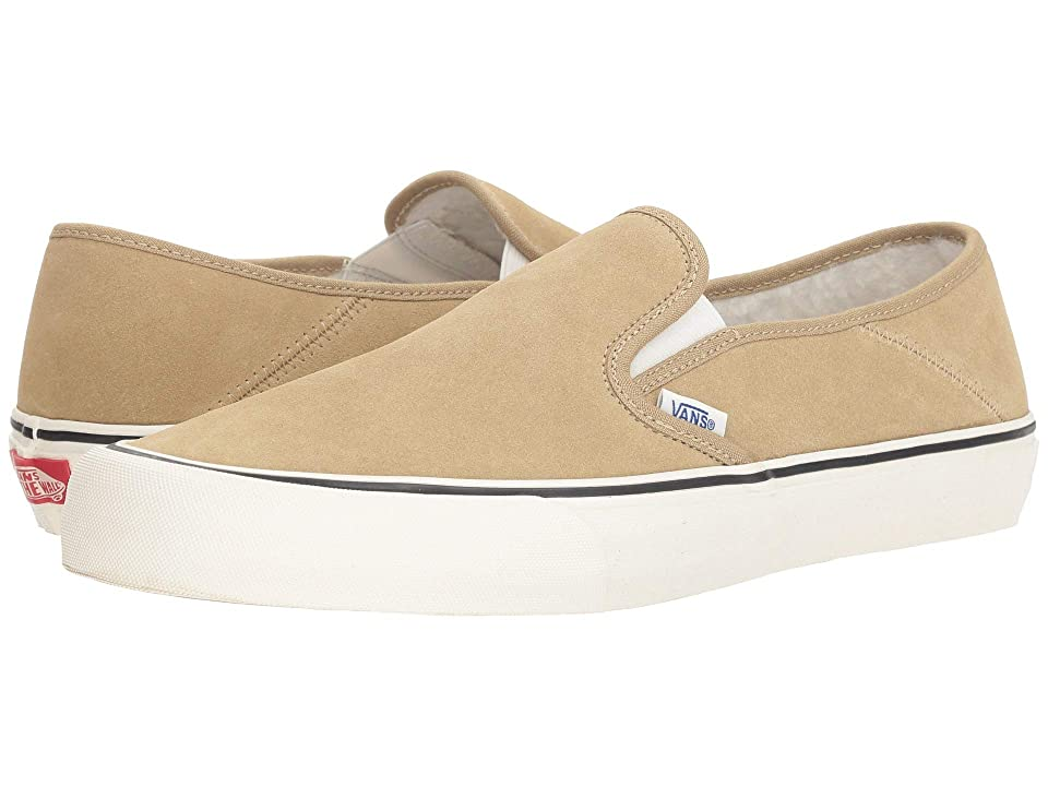 Vans Slip-On SF ((Fleece) Cornstalk/Marshmallow) Shoes