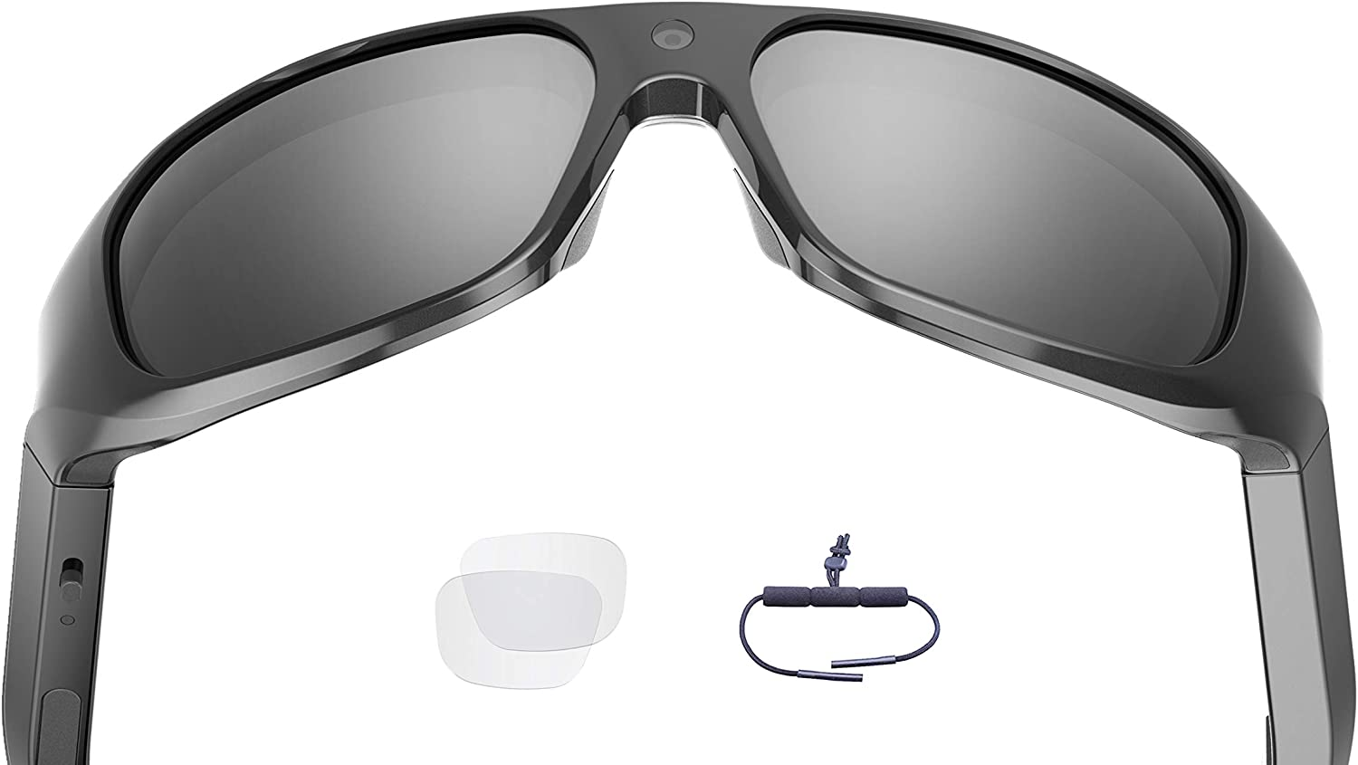 OhO sunshine 4K Ultra HD Water Resistance Video Sunglasses, Sports Action Camera with Built-in 32GB Memory and Polarized UV400 Protection Safety Lenses,Unisex Sport Design