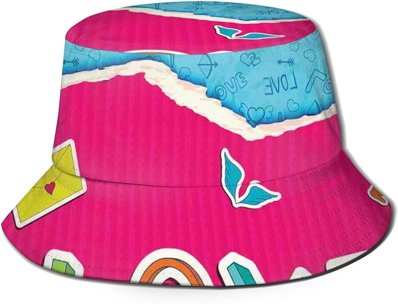 Cotton Packable New product! New type Summer Travel Bucket Hat Su Sun Columbus Mall Beach