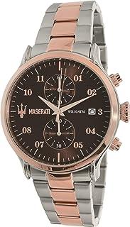 مزراتي ساعة يد رجاليه بسوار ستانلس ستيل، R8873618001