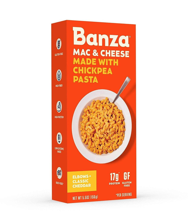 Banza Mac And Cheese 2021 5.5 Cheddar Chickpea San Francisco Mall Ounce